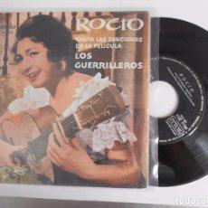 Discos de vinilo: ROCIO JURADO-EP LOS GUERRILLEROS-BUEN ESTADO. Lote 95631259