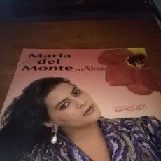Discos de vinilo: MARÍA DEL MONTE. . AHORA. B15V. Lote 95632171