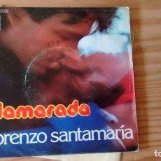 Discos de vinilo: SINGLE (VINILO) DE LORENZO SANTAMARIA AÑOS 70. Lote 222577803