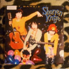 Discos de vinilo: SHONEN KNIFE- TWIST BARBIE- SINGLE- CBS/SONY -1993- PROMO. Lote 95635543