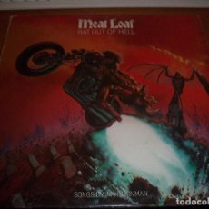 Discos de vinilo: LP DE MEAT LOAF, BAT OUT OF HELL. EDICION EPIC DE 1977 (UK). D.. Lote 95636855