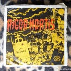 Discos de vinilo: RIGOR MORTIS- SOY ROCKERO / A TUS ÓRDENES - SINGLE-ARIOLA 1983. Lote 95638427