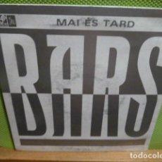 Discos de vinilo: BARS- MAI EST TARD -. Lote 95646563