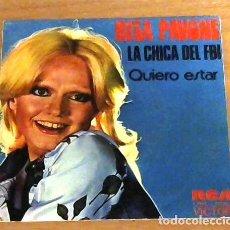 Discos de vinilo: RITA PAVONE LA CHICA DEL FBI - SINGLE. Lote 95657363