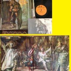 Discos de vinilo: JETHRO TULL - AQUALUNG 1971 !! COMPLETA EDIC ORG USA DOBLE CARPETA + ENCARTE !!!!! TODO IMPECABLE !!. Lote 164479378