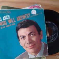 Discos de vinilo: SINGLE (VINILO) DE ED AMES AÑOS 60. Lote 95674091