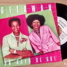 Discos de vinilo: SINGLE (VINILO) DE OTTAWAN AÑOS 80. Lote 95674647