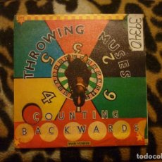 Discos de vinilo: THROWING MUSES- COUNTING BACKWRDS + AMAZING GRACE - SINGLE - -1991. Lote 95677431