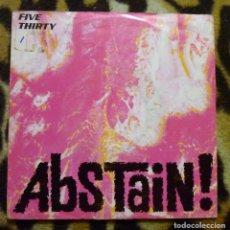 Discos de vinilo: FIVE THIRTY- ABSTAIN + YOU - SINGLE -EASTWEST -1990. Lote 95677743