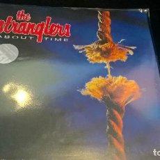 Disques de vinyle: MUSICA LP THE STRANGLERS ABOUT TIME LIMITED EDITION CLEAR VINYL PRECINTADO JOYA DE COLECCIONISTA . Lote 95680183