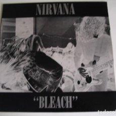 Discos de vinilo: NIRVANA LP DEBUT BLEACH TUP ORIGINAL UK 1989 A1 B1 CON ERRATA NEAR MINT. Lote 95686063