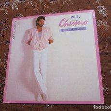 Discos de vinilo: WILLY CHIRINO- MAXI-SINGLE DE VINILO- TITULO CASTIGALA- CON 2 TEMAS- ORIGINAL DEL 85.- NUEVO. Lote 95690551