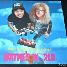Discos de vinilo: LP OST BSO MUSIC FROM MOTION PICTURE WAYNE'S WORLD GERMANY EU 1992 VINYL VINILO. Lote 95692535