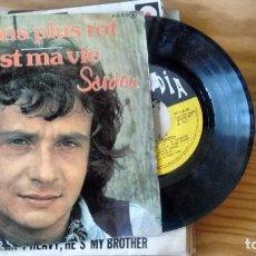 Discos de vinilo: SINGLE (VINILO) DE MICHEL SARDOU AÑOS 70. Lote 95698807