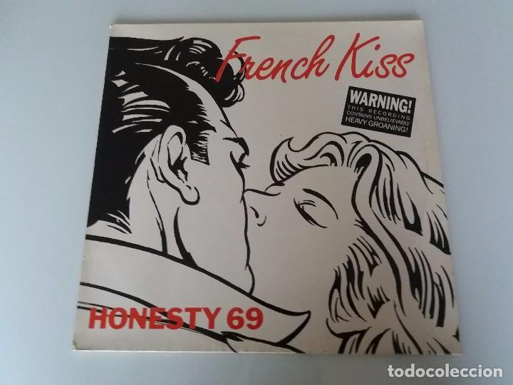 HONESTY 69 FRENCH KISS VINILO MAXI SINGLE EDICIÓN ALEMANA 1989 BCM RECORDS 12306 LIL LOUIS (Música - Discos - Singles Vinilo - Electrónica, Avantgarde y Experimental)