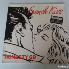 Discos de vinilo: HONESTY 69 FRENCH KISS VINILO MAXI SINGLE EDICIÓN ALEMANA 1989 BCM RECORDS 12306 LIL LOUIS. Lote 95703723