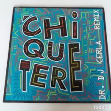 Discos de vinilo: CHIQUETERE BAND, DR DJ CERLA REMIX. VINILO MAXI SINGLE 1994 ZDISCOS PRODISC ZM012 VILLALBA TARIN. Lote 95704131