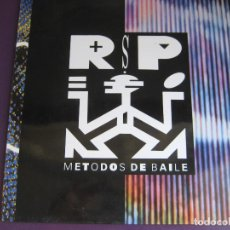 Discos de vinilo: REBELDES SIN PAUSA LP CBS 1990 - METODOS DE BAILE - HOUSE - RAP - LOS NIKIS - AZUCAR MORENO. Lote 95704287