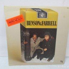 Discos de vinilo: BENSON AND FARRELL. HISPAVOX 1976. LP VINILO. VER FOTOGRAFIAS ADJUNTAS. Lote 95707275