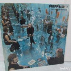 Discos de vinilo: FRIPP AND ENO. NO PUSSYFOOTING. LP VINILO. POLYDOR 1973. VER FOTOGRAFIAS ADJUNTAS. Lote 95707515