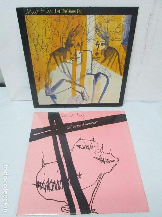ROBERT FRIPP. 2 LP VINILO: THE LEAGUE OF GENTLEMEN. LET THE POWER FALL. POLYDOR VER FOTOS (Música - Discos - Singles Vinilo - Rock & Roll)