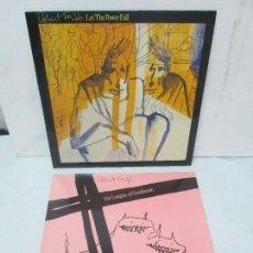 Discos de vinilo: ROBERT FRIPP. 2 LP VINILO: THE LEAGUE OF GENTLEMEN. LET THE POWER FALL. POLYDOR VER FOTOS. Lote 95707915