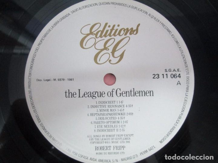 Discos de vinilo: ROBERT FRIPP. 2 LP VINILO: THE LEAGUE OF GENTLEMEN. LET THE POWER FALL. POLYDOR VER FOTOS - Foto 4 - 95707915