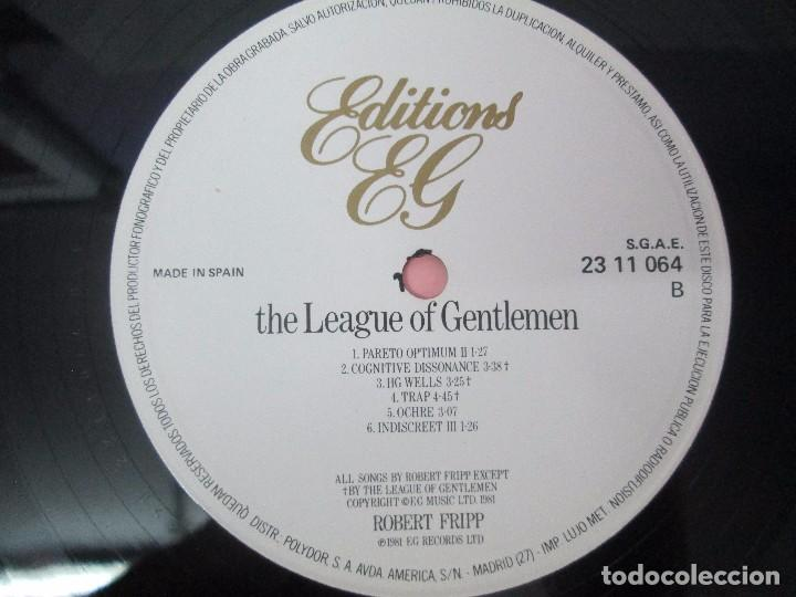 Discos de vinilo: ROBERT FRIPP. 2 LP VINILO: THE LEAGUE OF GENTLEMEN. LET THE POWER FALL. POLYDOR VER FOTOS - Foto 6 - 95707915