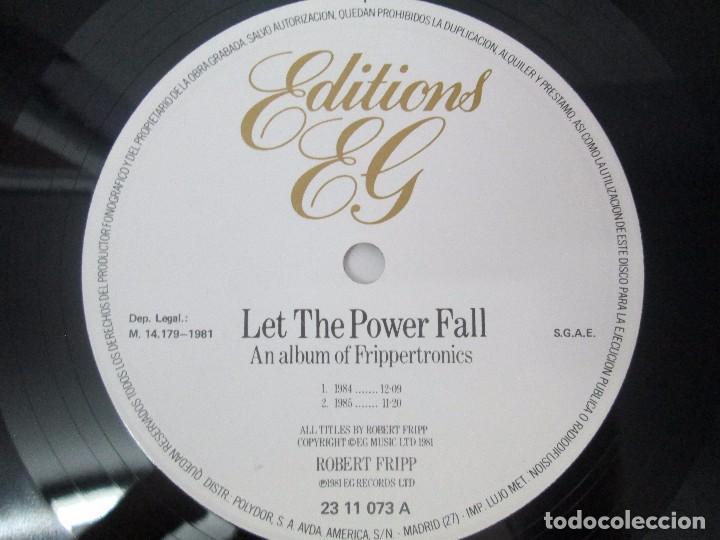 Discos de vinilo: ROBERT FRIPP. 2 LP VINILO: THE LEAGUE OF GENTLEMEN. LET THE POWER FALL. POLYDOR VER FOTOS - Foto 11 - 95707915