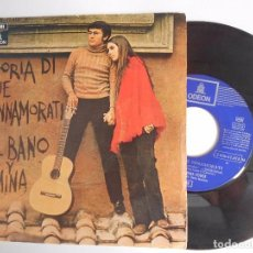 Discos de vinilo: SINGLE DE AL BANO Y ROMINA STORIA DI DUE INNAMORATI . Lote 95710443