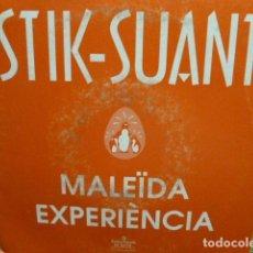 Discos de vinilo: STIK -SUAK -MALEIDA EXPERIENCIA - SINGLE PROMO -. Lote 95721011