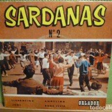 Discos de vinilo: SARDANAS -COBLA -ORLADOR- LLEVANTINA -. Lote 95721759