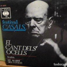 Discos de vinilo: PAU CASALS -CANT DELS OCELLS - Y 2 MAS -. Lote 95721943