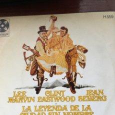 Discos de vinilo: LA LEYENDA DE LA CIUDAD SIN NOMBRE-BSO. Lote 95724231