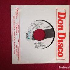 Discos de vinilo: SILENT CIRCLE, MOONLIGHT AFFAIR (DON DISCO) SINGLE PROMOCIONAL ESPAÑA. Lote 95730099