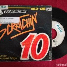 Discos de vinilo: SCRATCHIN' 10 RADIO GOODTIMES MIX (DIVUCSA) SINGLE ESPAÑA - JUAN MANUEL ORTEGA. Lote 95730395