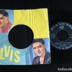 Discos de vinilo: ELVIS PRESLEY SINGLE FUNDA FOTOS ALEMANIA AÑOS 50 . Lote 95730832