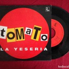 Discos de vinilo: TOMATO, LA YESERIA (CDM) SINGLE PROMOCIONAL. Lote 222460240