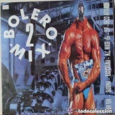 Discos de vinilo: BOLERO MIX 2 - LP BLANCO Y NEGRO SPAIN 1990. Lote 95732943