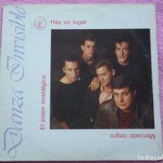 Discos de vinilo: DANZA INVISIBLE,HAY UN LUGAR DEL 87. Lote 95733547