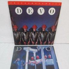 Discos de vinilo: DEVO. NEW TRADITIONALIST. FREEDOMOFCHOICE. 2 LP VINILO. VER FOTOGRAFOIAS ADJUNTAS. Lote 95740347