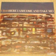 Discos de vinilo: UB 40 ( HERE I AM(COME AND TAKE ME) - CRISIS ) 1990 - GERMANY SINGLE45 VIRGIN. Lote 95741295