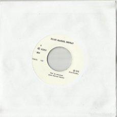 Discos de vinilo: JOAN MANUEL SERRAT SINGLE PROMOCIONAL PIEL DE MANZANA / CAMINITO DE LA OBRA 1976. Lote 95743195