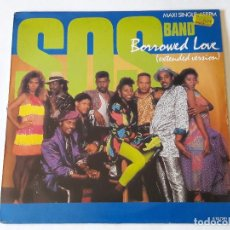Discos de vinilo: S.O.S. BAND - BORROWED LOVE (EXTENDED VERSION) - 1986. Lote 95746551