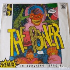 Discos de vinilo: SNAP! INTRODUCING TURBO B. - THE POWER (REMIX) - 1990. Lote 95746671
