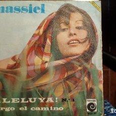 Discos de vinilo: MASSIEL AÑO 1967 ¡ ALELUYA ! Nº 1 Y LARGO EL CAMINO. Lote 95747507