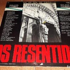 Discos de vinilo: OS RESENTIDOS. FAI UN SOL DE CARALLO. Lote 95748763
