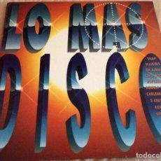 Discos de vinilo: LO MAS DISCO 3-1992-PORTADA DOBLE. DISCO DOBLE.. Lote 95748919