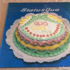 Discos de vinilo: STATUS QUO (QUO CAKE MIX). POLYGRAM IBÉRICA 1987. Lote 95750715