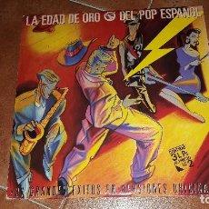 Discos de vinilo: LA EDAS DE ORO DEL POP ESPAÑOL. Lote 95750951